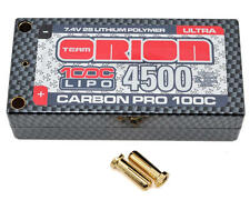 Team Orion 14068 2S Carbon Pro 100C LiPo Ultra Shorty Pack Battery 7.4V/4500mAh