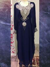 Dubai Fancy Kaftan Caftan Farasha Moroccan Takchita Jilbab Jalabiya Maxi Dress