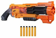 *NEW* NERF Doomlands N-Strike Vagabond Blaster Gun with 6 Doomland Darts