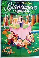 manifesto movie poster 2F BIANCANEVE E I SETTE NANI WALT DISNEY ANIMAZIONE
