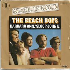 BEACH BOYS Barbara Ann/Sloop John B FRENCH SINGLE CAPITOL 1978 REISSUE