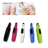 Pro Nail Care Pen Electric Grinding Machine Toenail File Tool Grinder Beauty