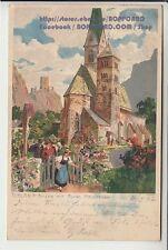 Kleinformat Ansichtskarten vor 1914 aus Europa mit dem Thema Künstlerkarte