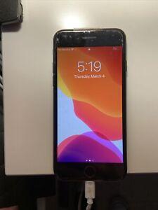 Black Apple iPhone 7  Unlocked Sprint LTE - 128GB