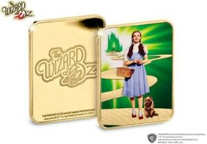 New Official The Wizard of Oz Collector Silver Ingot