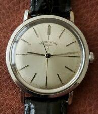 Vintage Favre Leuba Mechanical Watch - Stainless Steel Case