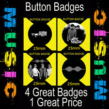 "ARCTIC MONKEYS  - 4 GREAT BUTTON BADGES - 25mm -1""   CD340"