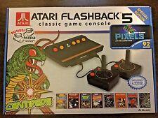 NEW Atari Flashback 5 Classic Game Console Special Edition W/ 92 Games & Bonus!!