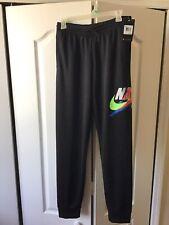 NWT Boy's Black Nike Jordan Joggers 100% Polyester Size XL