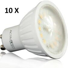 10x LED Spot SMD 2835 Leuchtmittel GU10 400lm 230V 3000K Warmweiß