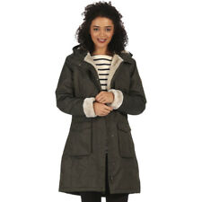 REGATTA LADIES ROANSTAR II WATERPROOF INSULATED COAT FIG BLACK or KHAKI RWP237