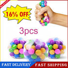 3x Squishy Sensory Stress Reliever Ball Toy Autism Squeeze Anxiety Fidget Balls0