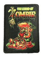 Legend of Zombie Funny Video Game Iron On Embroidered Patch On Jacket Shirt New