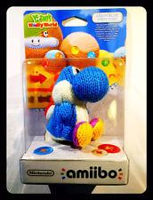 Amiibo Yoshi Di Lana Azzurro - light-blue yarn Yoshi'S Woolly World Collection