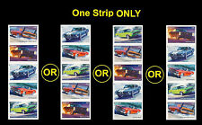 US 4747b Muscle Cars imperf NDC vert strip set MNH 2013