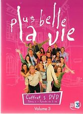 PLUS BELLE LA VIE - Saison 1 Volume 3 - Episodes 61 à 90 - coffret digipack