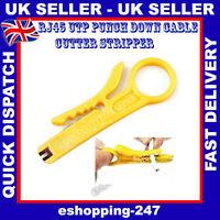 Network RJ45 RJ11 PC Lan Cable Cutter Stripper IDC Punch Push Down Tool E068
