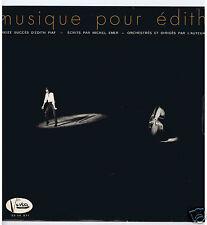 LP MICHEL EMER MUSIQUE POUR EDITH (13 SUCCES D'EDITH PIAF)
