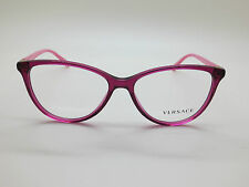 NEW Authentic VERSACE Mod. 3194 5097 Fuchsia/Pink 54mm RX Eyeglasses