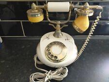 Vintage Antique Telephone Retro Handset Rotary Dial Home Office Decor