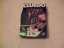 Cluedo Games To Go Travel Game  Hasbro 2010