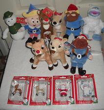 #607 Rudolph the Red Nose Reindeer Bean Bag Plush & Mini Figures