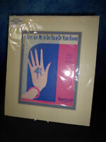 Vintage YOU'VE GOT ME IN THE PALM OF YOUR HAND Musical Advertising Art Print