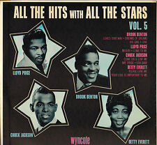 "CHUCK JACKSON / B. BENTON ""ALL THE HITS WITH ALL THE STARS VOL. 5"" 60'S LP"