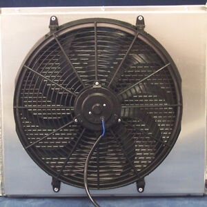 17 inch fan and shroud for 55 -57 Chevy truck