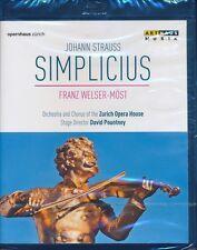 Johann Strauss SIMPLICIUS Bluray Blu-ray NEW Franz Welser-Most Zurich Opoera