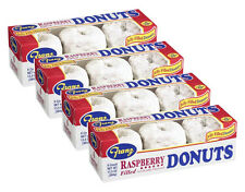 4 Boxes of Franz Raspberry Filled Powdered Donuts Northwest Best 24Pcs - 4 Boxes