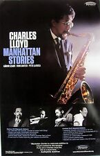 "Charles Lloyd ""Manhattan Stories"" U.S. Promo Poster - Jazz, Post-bop Music"