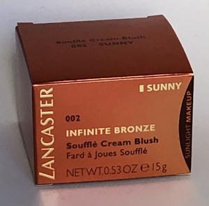 Lancaster Infinite Bronze Soufflé Cream Blush 002 Fard a Joues souffle