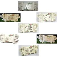 Graveside Memorial Scroll Grave Plaque For Various Persons Decoration Ornament