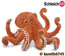 Schleich Pulpo Juguete Animal Salvaje Zoológico de plástico sólido Marina Mar Predator * Nuevo * 💥