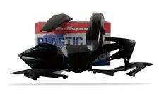 Polisport Motocross Plastic Kit for Honda CRF 250 2008 Only Black 90144