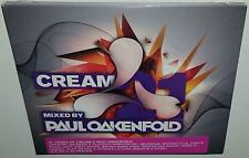 VA CREAM 21 MIXED BY PAUL OAKENFOLD (2013) BRAND NEW SEALED 2CD SET