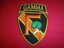 Vietnam War Patch US 5th SFGrp Operational Detachment B-57 Project GAMMA