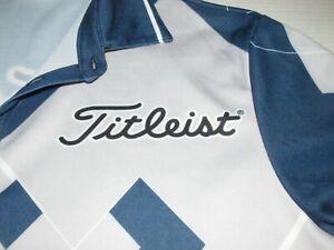 Titleist Equipment Golf Argyle Polo Shirt Sz 2XL Balls Clubs Golfer Golfing Men