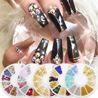 Nagel Perlen Strasssteine ReizeScharfer Boden 3D Nail Art Dekoration Mixed Size