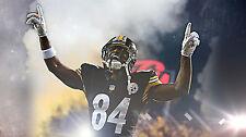 """Pittsburgh Steelers Nfl Antonio Brown Fridge Magnet 2.5"""" x 3.5"""" #3"""