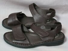 Women's Prope't Sandals Aircell Cushion Brown Size 8.5 W Leather Ankle Strap
