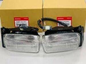 Honda  Genuine OEM Acura NSX NA1 NA2 Fog light Lamp ASSY Left + Right Pair