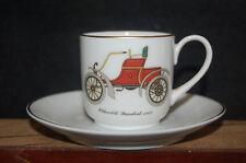 Demitasse Cup&Saucer  1903 Oldsmobile Runabout - Porcelaine de Paris-Limoges