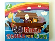 KIDS 50 BIBLE SONGS FOR  (2 CD Set) Pre-K Elementary WRAPPED!