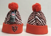 NFL Chicago Bears NFL Youth POM POM Winter KNIT HAT NFL Team official Apparel