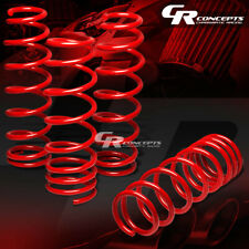"FOR 09-16 NISSAN 370Z/Z34 G37/V36 COIL RED RACING LOWERING SPRINGS 1.5"" DROP"