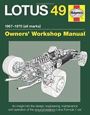 Lotus 49 Manual, 1967-1970 (All Marks)