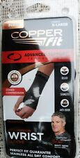 """COPPER Fit Advanced Support Compression WRIST Sleeve Size XL 8-9"""" Unisex NEW"""