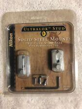 Nikon Ultra Lok Stud - Solid Steel Mounts - Two Piece Stud Base - Rem 700